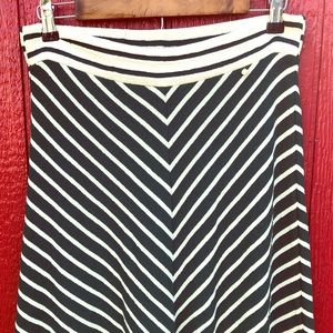 Anthropologie Harlyn 100% Cotton Textured skirt